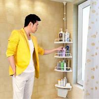 Многоуровневая полка для ванной комнаты