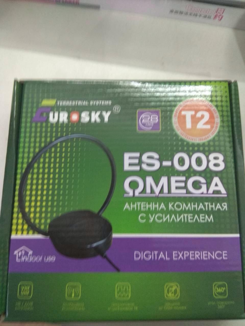 Комнатная антенна Eurosky ES-008 OMEGA T2 активная 5V