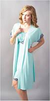 Халат женский Shato - 603/1 (женская одежда для сна, дома и отдыха, домашняя одежда, ночная)