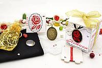 Набор для вышивки нитками украшений (микровышивка). Подвеска. НМ-01П