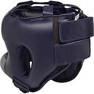 Боксерский шлем с бампером RDX Leather Pro, фото 2