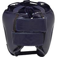 Боксерский шлем с бампером RDX Leather Pro, фото 4