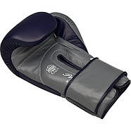 Боксерские перчатки RDX Leather Pro C4 Blue, фото 4