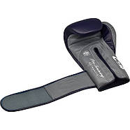 Боксерские перчатки RDX Leather Pro C4 Blue, фото 5