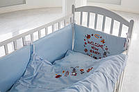 Защитные бортики  в кроватку