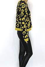 Женский свитер с леопардовым принтом, фото 2