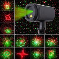 Уличный лазерный новогодний проектор MOVING GARDEN LASER LIGHT