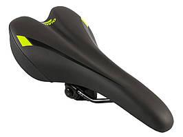 """Седло """"Giant"""" 150х280мм велосипедное Зеленый"""