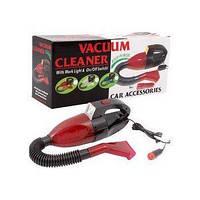 Компактный пылесос CAR VACUUM CLEANER пылесос для авто работает от прикуривателя