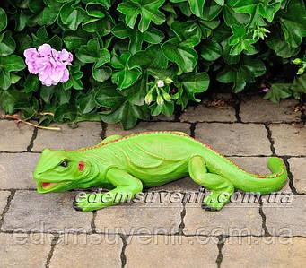 Садовая фигура Игуана малая