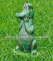 Садовая фигура Крокодил , фото 2