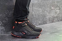 Мужские зимние кроссовки в стиле Nike Huarache, 6775 черные