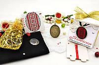 Набор для вышивки нитками украшений (микровышивка). Подвеска. НМ-02П