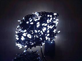 Новогодняя светодиодная гирлянда КОНУС 500LED  белый, фото 3