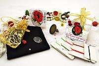 Набор для вышивки нитками украшений (микровышивка). Кольцо. НМ-03К
