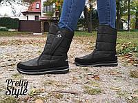 Женские дутики  угги зимние ботиночки Pretty Style 38 и 38 р в наличии, фото 1