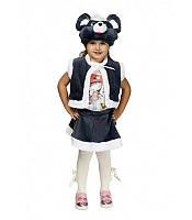 Карнавальный костюм МЫШКА, МЫШОНОК для девочки 3-7 лет, детский новогодний костюм Мышь маскарадный