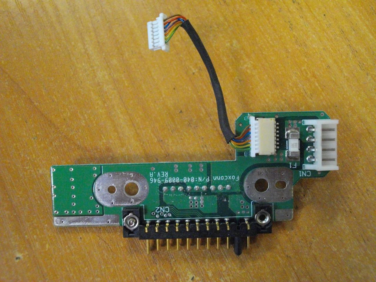 Плата перехідник з роз'ємом підключення акумулятора батареї Toshiba SPM30 PSM35E M30 M35 PSM35E-000MN-UA