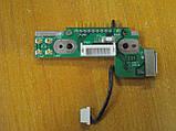 Плата перехідник з роз'ємом підключення акумулятора батареї Toshiba SPM30 PSM35E M30 M35 PSM35E-000MN-UA, фото 2