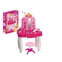 Трюмо 661-21 для настоящей модницы со стульчиком для девочек 17-13-11, фото 1