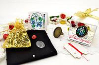 Набор для вышивки нитками украшений (микровышивка). Кольцо. НМ-08К