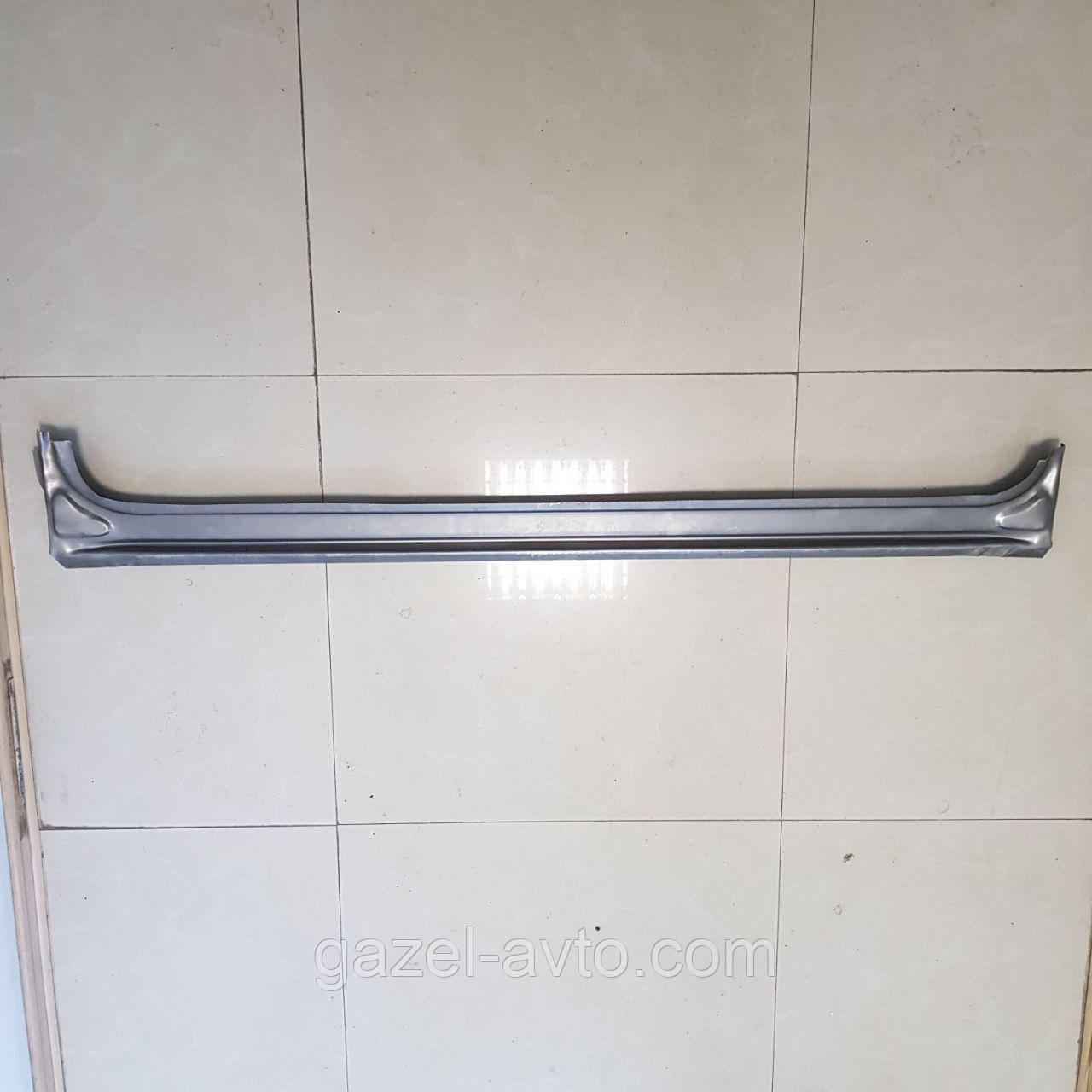 Вставка ремонтная №18 Газель рейка сдвижной двери нижняя (подножка) (пр-во Россия)