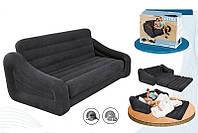 Надувной диван-кровать трансформер 5-в-1 Intex 68566 (193х221х66 см)