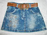 Юбка джинсовая 5-8 лет