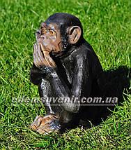 Садовая фигура Обезьяна немая, фото 2