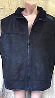 Безрукавка чоловіча з натуральноюї шкіри  4XL