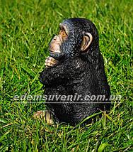 Садовая фигура Шимпанзе средний, фото 3