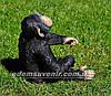 Садовая фигура Шимпанзе большой, фото 2