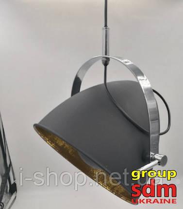 Люстра Ирина, металл, цвет матовый черный, фото 2