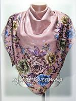 Кашемировые платки с напылением Мемфис, розовый
