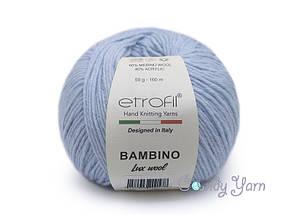 Etrofil Bambino Lux wool, Голубой №70516
