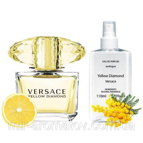 №208 Женские духи на разлив   Versace Yellow Diamond  110мл+ПОДАРОК