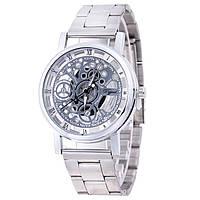 Мужские часы Skeleton  Dgjud silver