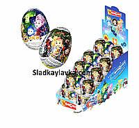 Шоколадное яйцо Фиксики Новогоднее 25 г 24 шт (ANL)