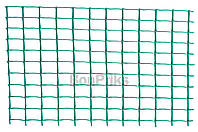Сетка декоративная Клевер - 1,0 x 20 м (20 x 20 мм) зеленая