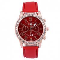 Женские часы Dior Geneva red