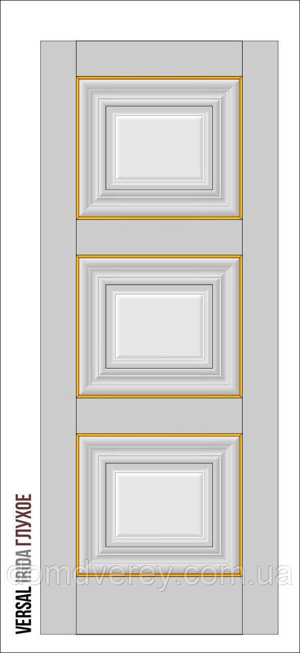 Двери межкомнатные, Родос, Versal, Irida, глухое, grand molding