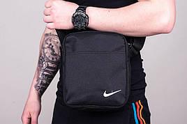 Мужская тканевая сумка-барсетка в стиле Nike