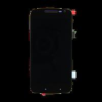 Motorola G4 Play XT1600, XT1601, XT1602, XT1603, XT1607 дисплей з тачскріном модуль з рамкою чорний copy