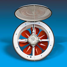 Вентилятор осьовий з кришкою Bahcivan BK 200 бахчиван