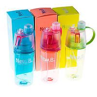 Пляшка для води NewB 400 мл з розпилювачем