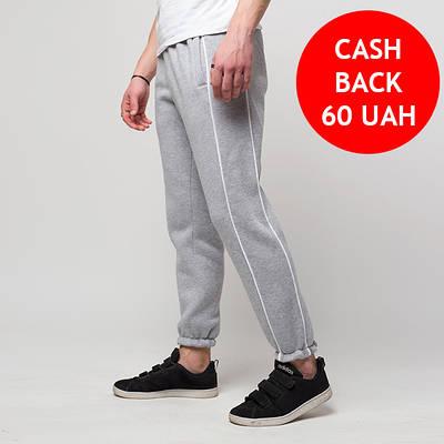 Зимние спортивные штаны мужские серые от бренда ТУР модель Сектор (Sector) размер XS, S, M, L, XL, XXL