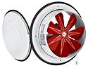 Вентилятор осьовий з кришкою Bahcivan BK 300