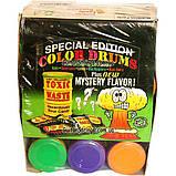 Кислые Конфеты Toxic Waste Sour Candy Green Drum 48g, фото 5