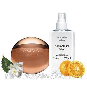 №13 Чоловічі парфуми на розлив Bvlgari AQVA AMARA 110мл