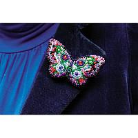 """Набор для вышивки бисером украшения """"Бабочка"""""""